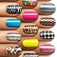 Salon Effects Step by Step Have you seen the awesome nail patterned polish everyone is wearing? Guess what? Now you can have it too! The application is so easy you...