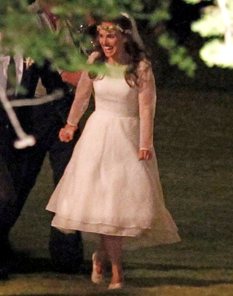 Natalie Portman Wedding Gown