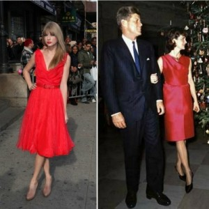 taylor swift jackie o fashion