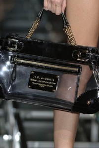 Dolce and Gabbana See Through Handbags