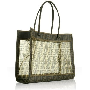 Fendi See Though Handbag