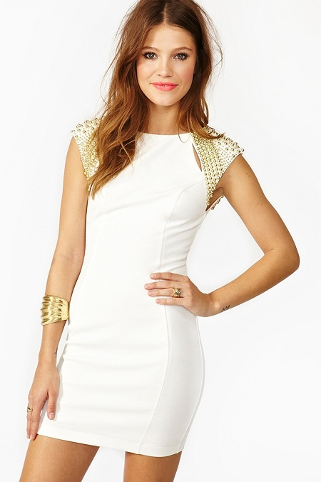 Nasty Gal Futura Dress