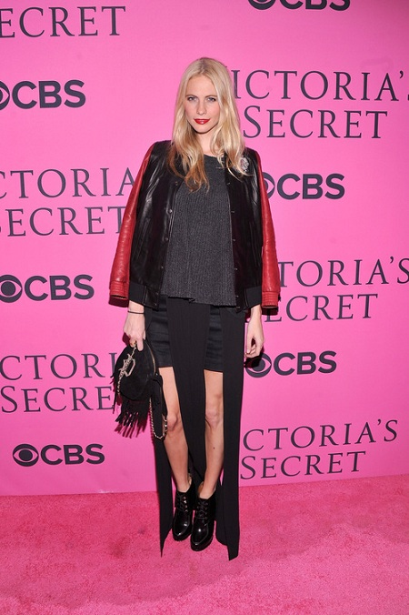 Poppy Delevigne at Victorias Secret Fashion Show