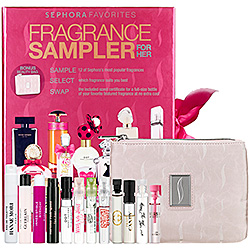 fragrance sampler gift idea