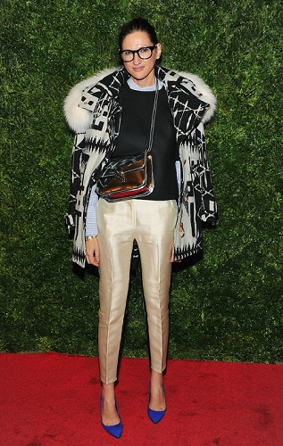 Jenna Lyons In Vogue The Editors Eye
