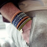 fashionable mens bracelete