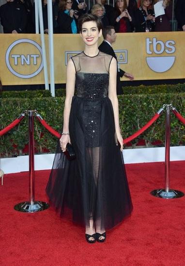 Anne Hathaway SAG Awards Dress