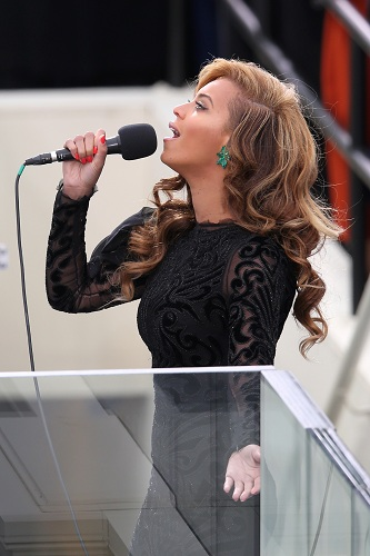 Beyonce Singing on Inauguration Day