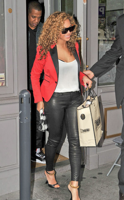 Beyonce wearing Tom Ford