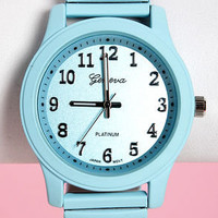 pastel colored watches