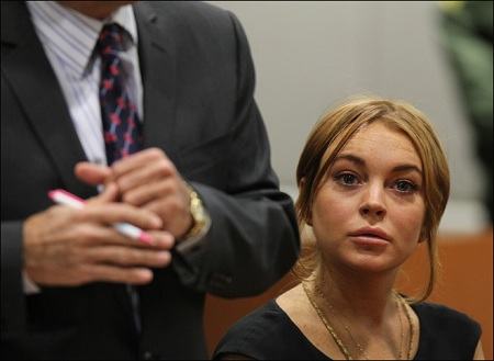 Lindsay Lohan Court Pics