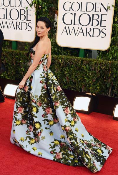 Golden Globe Awards Lucy Liu