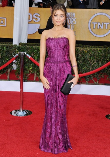 Sarah Hyland SAG Awards Dresses