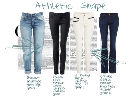 jjeans for athletic figure