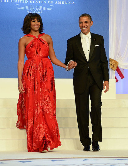 michelle obama second inauguration dress