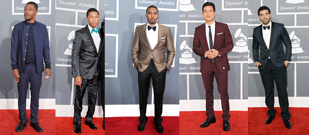 Best Dressed Men Grammys
