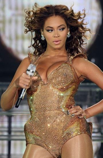 Beyonce Gold Bodysuit