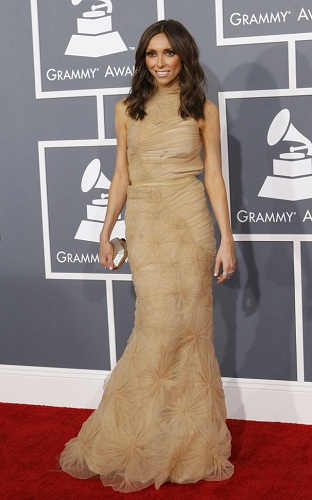Giuliana Rancic Grammy Awards Dress