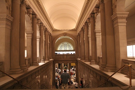 Interior of the MET
