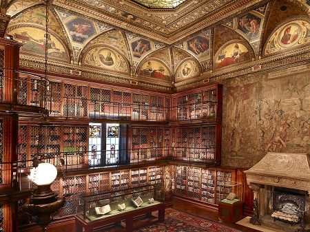 Morgan Library Interior