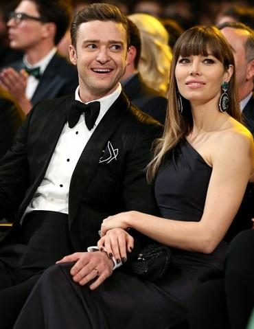 Grammys Justin Timberlake Jessica Biel