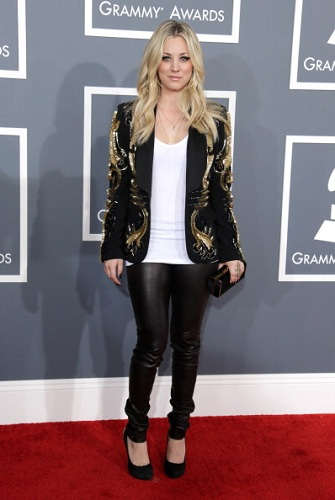 Kaley Cuoco Grammy Awards