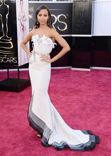 Zoe Saldana Oscars