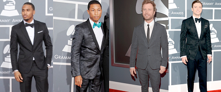 mans fashion Grammys