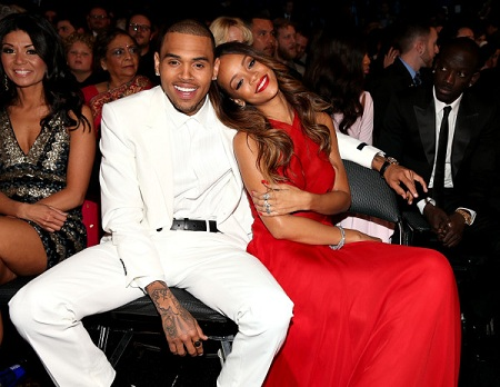 Rihanna and Chris Brown grammys