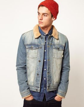 mens asos denim jacket
