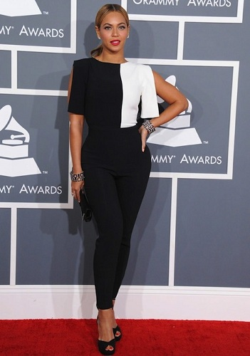 beyonce grammy awards red carpet