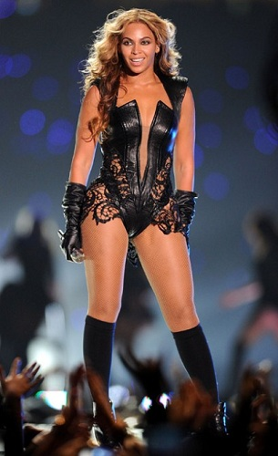 beyonce super bowl 47 bodysuit