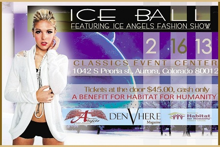 ice ball featuring ice angels fashion show