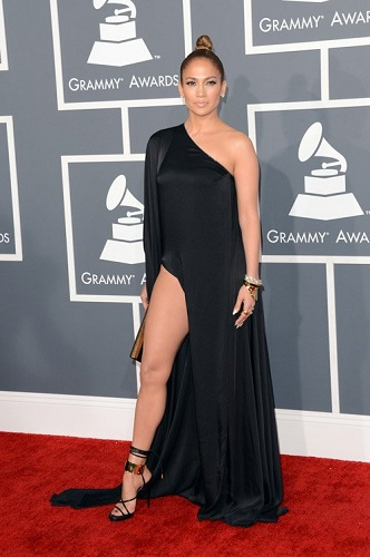 jennifer lopez grammy awards dress