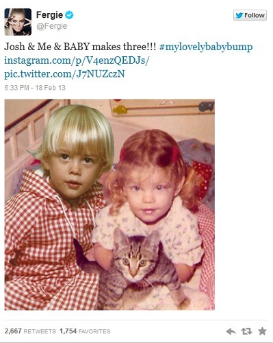 fergie and josh duhmel kids picture