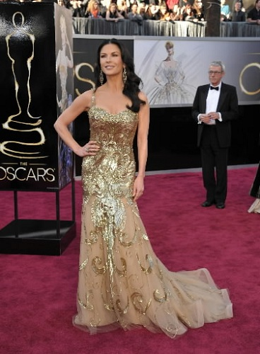 oscars katherine zeta jones