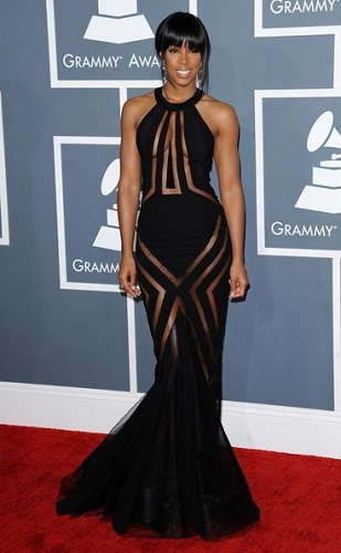 kelly rowland grammy awards dress