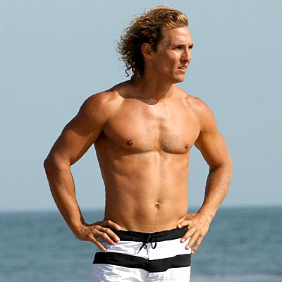 shirtless matthew mcconaughey