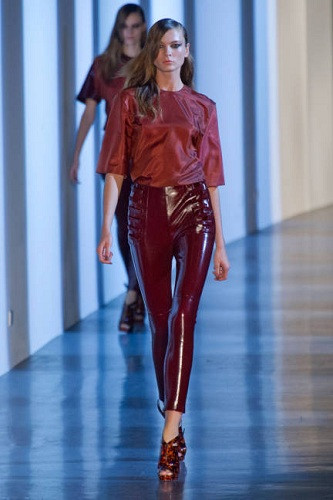 Elle Mugler Fashion Week