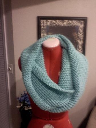 diy crochet infinity scarf