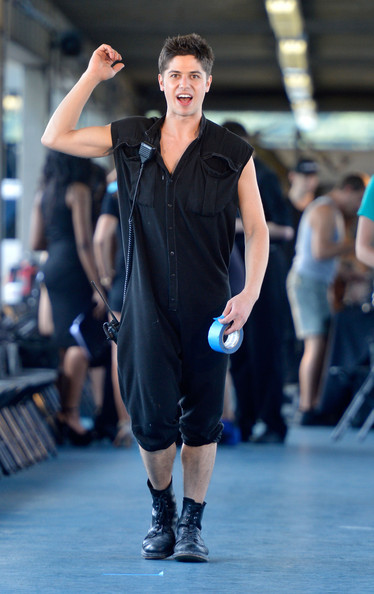Asher Levine fashion show
