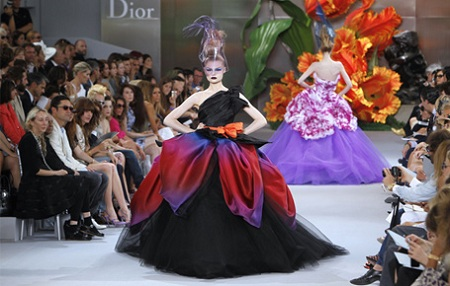 Dior Haute Couture Runway