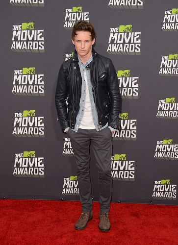 MTV Movie Awards Eddie Redmayne