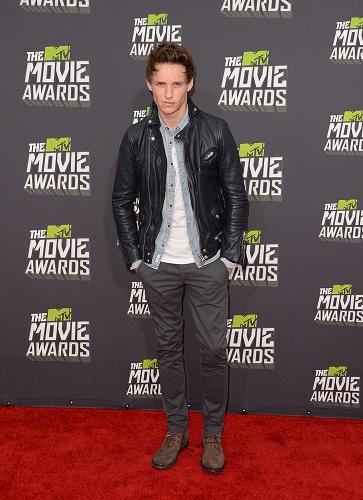 MTV Movie Awards Eddie Redmayne