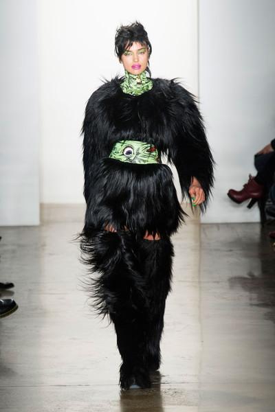 Jeremy Scott runway show