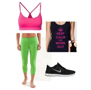 cute fitness clothes