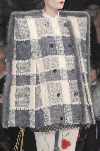 Thom Browne fashion show runway