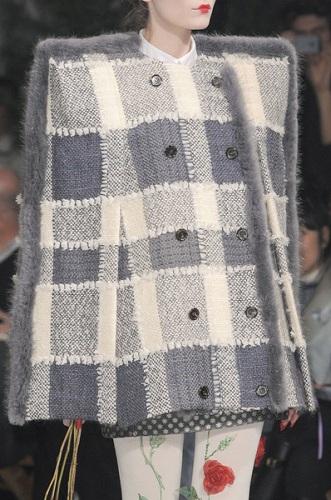 Thom Browne fashion show runway