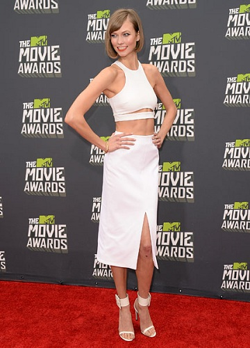 mtv movie awards karlie kloss