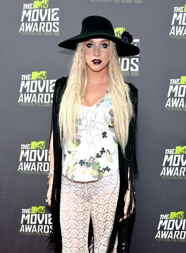 mtv movie awards kesha